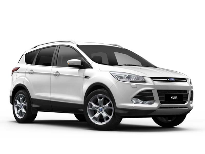 ford kuga blanc ford kuga 2 0 tdci 150ch fap titanium. Black Bedroom Furniture Sets. Home Design Ideas